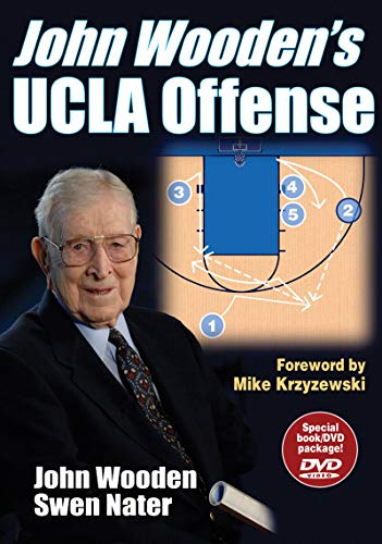 9780736061803: John Wooden's UCLA Offense: Special Book/DVD Package