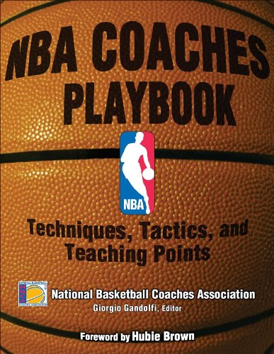9780736063555: NBA Coaches Playbook: Techniques, Tactics, and Teaching Points