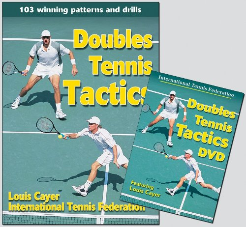 9780736064187: Doubles Tennis Tactics (Book & DVD)