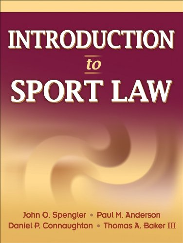 9780736065320: Introduction to Sport Law