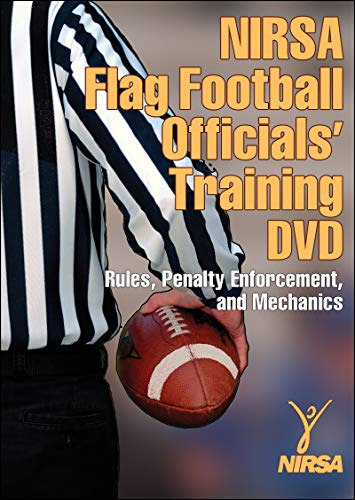 NIRSA Flag Touch Football Officials Training DVD: Rules, Penalty Enforcement, and Mechanics: Nirsa
