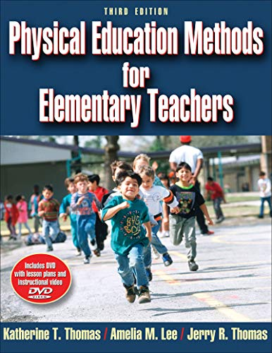 9780736067041: Physical Education Methods for Elementary Teachers [With DVD ROM]