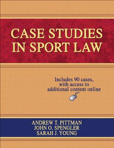 Case Studies in Sport Law: Pittman, A T