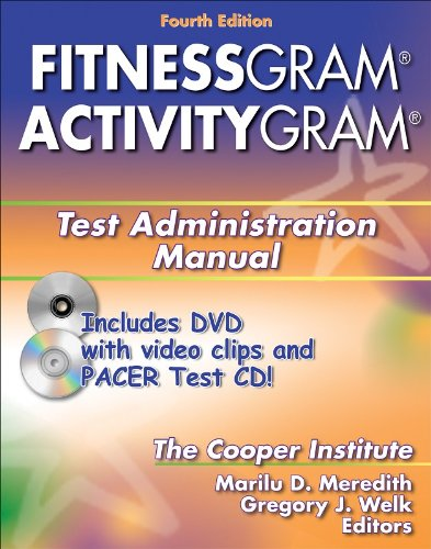 9780736068567: Fitnessgram/Activitygram Test Administration Manual-4th Edition
