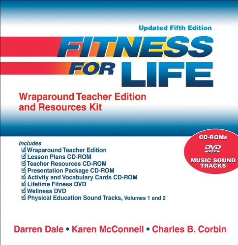 9780736068642: Fitness for Life Wraparound Teacher Edition and Resources Kit-Updated 5th Edition