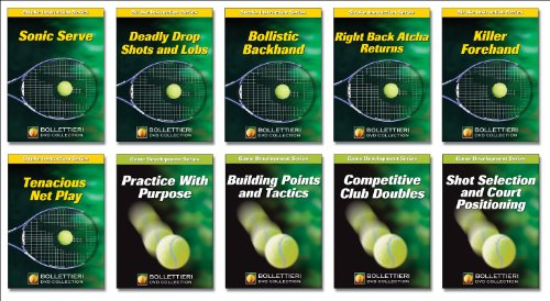 9780736070003: Nick Bollettieri DVD Collection