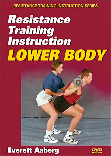 9780736070133: Resistance Training Instruction DVD: Lower Body