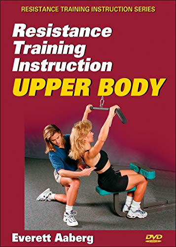 9780736070140: Resistance Training Instruction DVD: Upper Body