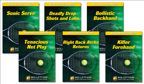 9780736071291: Nick Bollettieri's Stroke Instruction (Nick Bollettieri's Stroke Instruction Series)
