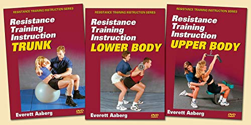 9780736073714: Resistance Training Instruction DVD: Complete Collection [VHS]