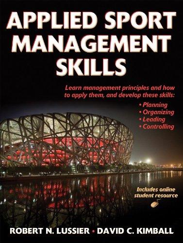 9780736074353: Applied Sport Management Skills