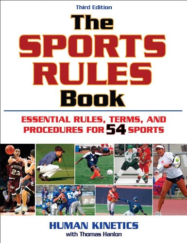 9780736076326: The Sports Rules Book - 3rd Edition