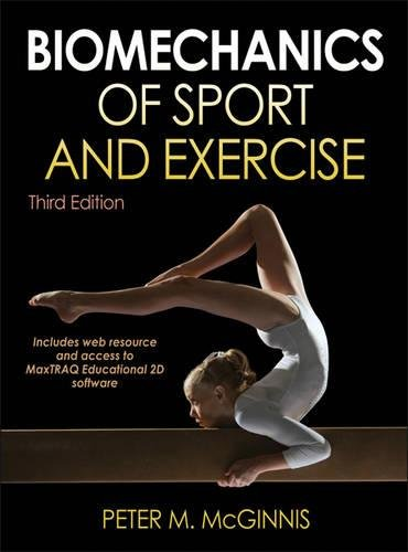 9780736079662: Biomechanics of Sport and Exercise With Web Resource and MaxTRAQ 2D Software Access-3rd Edition