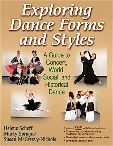 Exploring Dance Forms and Styles (Book & Merchandise): Helene Scheff