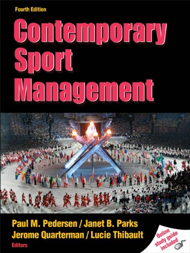 9780736081672: Contemporary Sport Management With Web Study Guide-4th Edition