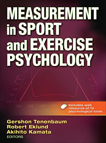 9780736086813: Measurement in Sport and Exercise Psychology With Web Resource