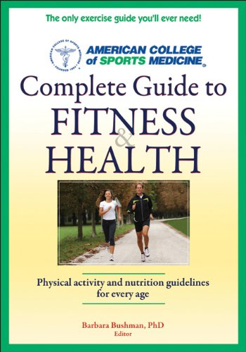 9780736093378: ACSM's Complete Guide to Fitness & Health (1st Edt)