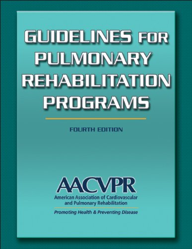 9780736096539: Guidelines for Pulmonary Rehabilitation Programs