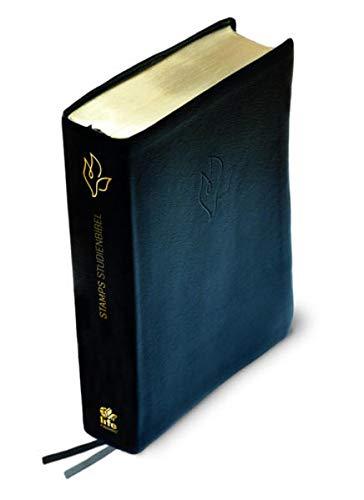 Bibelausgaben STAMPS Studienbibel (Lederfaserstoff, schwarz): Donald Stamps
