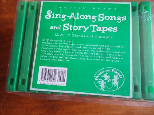 9780736201629: Hampton-Brown Phonics and Friends Level D Sing-Along Songs and Story Tapes - set of 12 cassette tapes