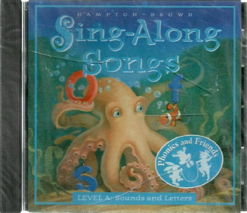 9780736202008: Hampton Brown Level A Phonics and Friends Sounds and Letters Sing Along Songs CD