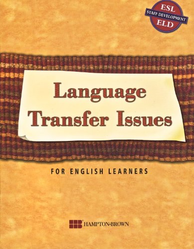 9780736215541: Language Transfer Issues for English Learners