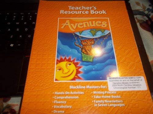 9780736218337: Avenues Teacher's Resource Book