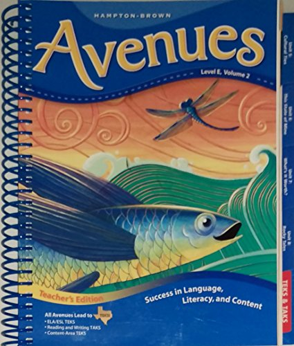 Success in Language, Literacy, and Content (Avenues, Level E, Volume 2)