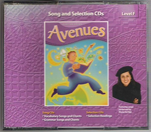9780736220422: Avenues Song and Selection CDs Level F