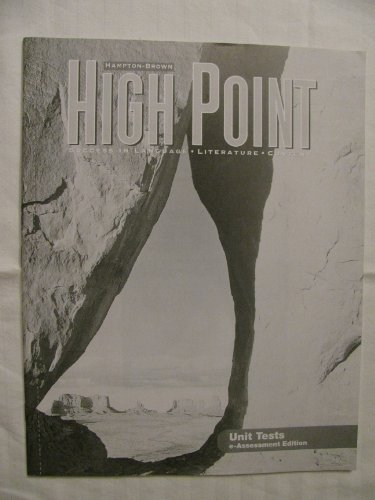 9780736226707: High Point Unit Tests e-Assessment Edition Level B ISBN 9780736226707 0736226702