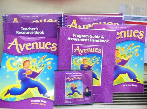 9780736229074: Avenues California Edition, Teacher's Edition, Grade 5, Level F, Volume 1 and 2.