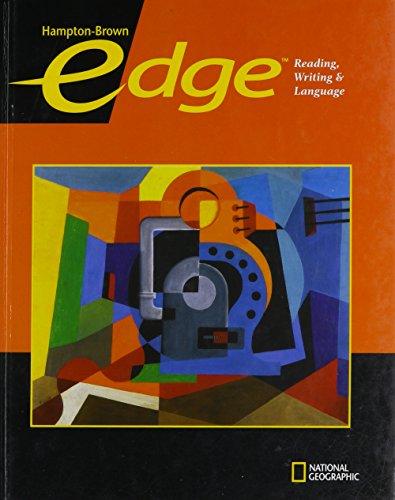 9780736234528: Edge Level A Student Edition (Hampton-Brown Edge: Reading, Writing, & Language ©2009)
