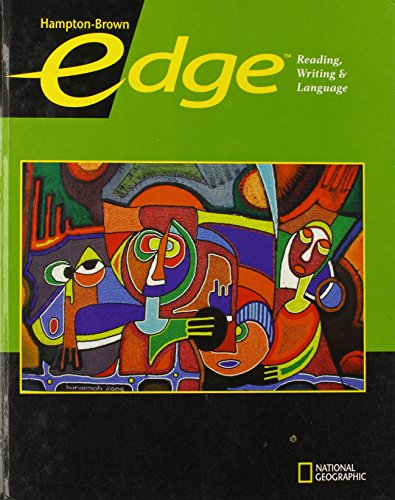 Edge Level C Student Edition (Hampton-Brown Edge: Reading, Writing, & Language 2009): Moore, ...