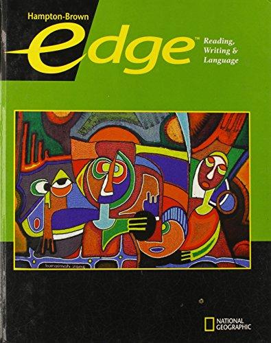 9780736234542: Edge Level C Student Edition (Hampton-Brown Edge: Reading, Writing, & Language ©2009)