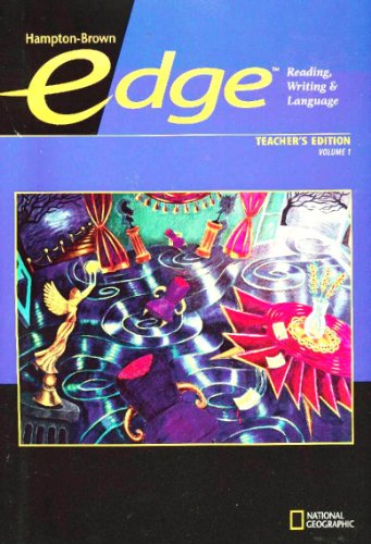 9780736234948: Edge: Reading, Writing, Language, Vol. 1, Level B, Teacher's Edition