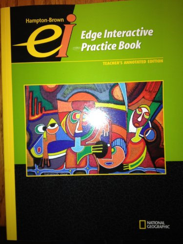 9780736235488: Hampton-Brown Edge Interactive Practice Book, Level C, Teacher's Annotated Edition
