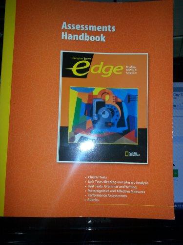 9780736238779: Assessments Handbook - Edge Reading, Writing & Language