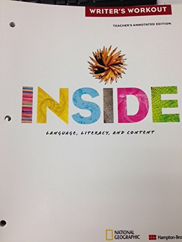 9780736258715: Inside E: Writer's Workout (Inside, Legacy)