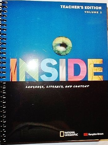 9780736258968: Inside Level C Teacher Edition with Language & Fluency CD Vol. 2