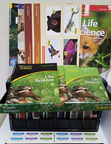 9780736273053: National Geographic Science K (Life Science: Animals and Plants): Classroom Set (NG Science Kindergarten)