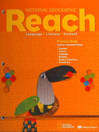 National Geographic Reach, Practice Book, Teacher's Annotated Edition, Level D