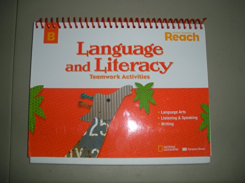 9780736274685: National Geographic REACH Language and Literacy Teamwork Activities Level B