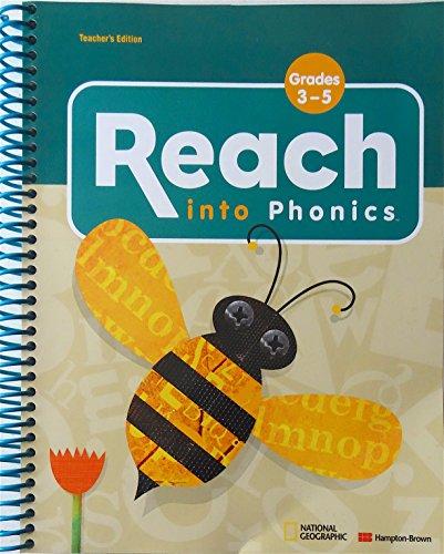 9780736279680: Reach Into Phonics w/ 2 Sounds & Songs Cds ~ Grades 3-5 (Teacher's Edition)