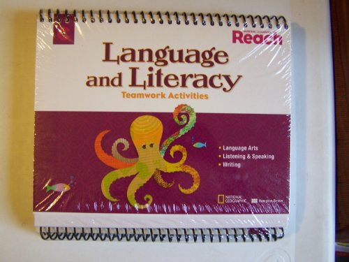 9780736282451: National Geographic Reach Language and Literacy Teamwork Activities ~ Level C (4 Pack)