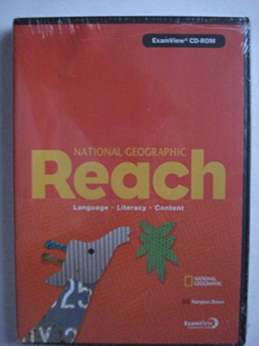 National Geographic Reach: Language, Literacy, Content, Level B: ExamView CD-ROM (2011 Copyright): ...