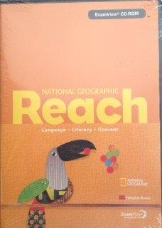 9780736288330: National Geographic Reach Language Literacy Content Level D CD-ROM
