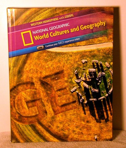 9780736289993: World Cultures and Geography Western Hemisphere with Europe: Student Edition (World Cultures and Geography Copyright Update)