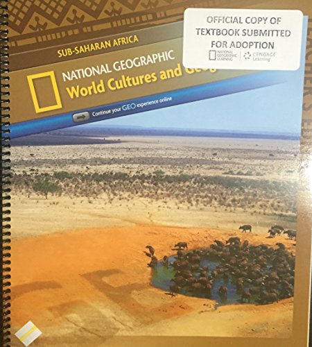 9780736290074: Worlds Cultures and Geography Modular Teacher Edition: Sub-Saharan Africa