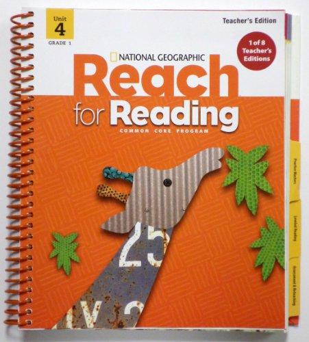 9780736296397: Reach For Reading Grade 1 Teachers Edition Unit 4