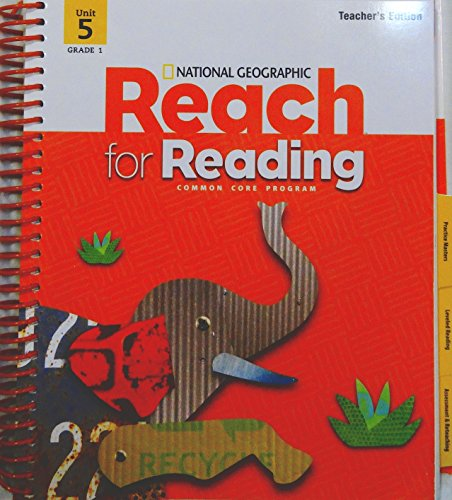9780736296403: Reach For Reading Grade 1 Teachers Edition Unit 5